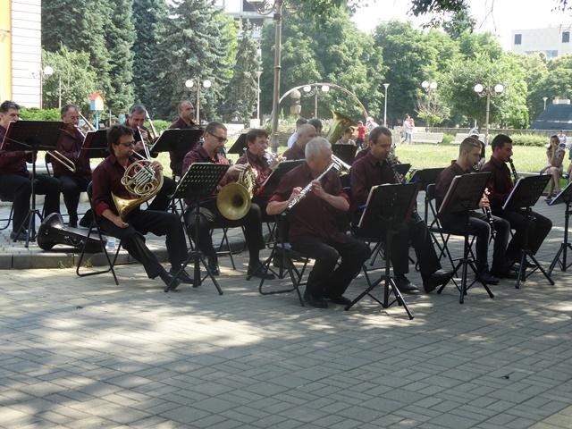 Концерт на Духовия оркестър - 27.06.2017 г.
