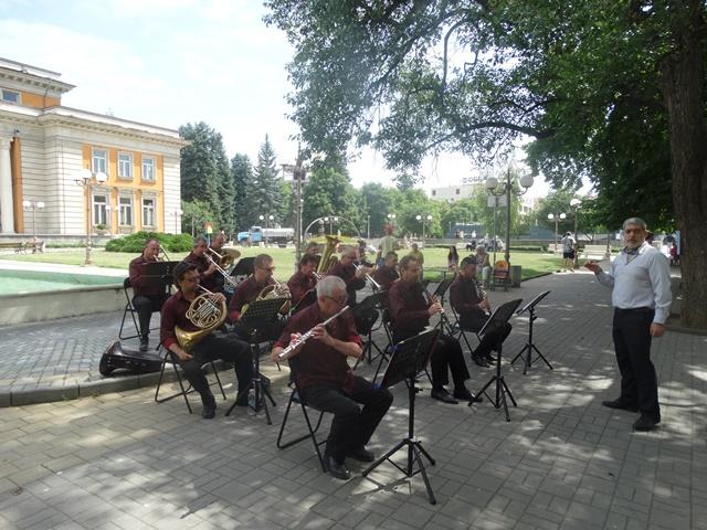 Концерт на Духовия оркестър - 29.06.2017 г.