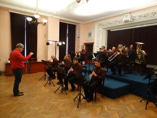 Образователен концерт на Духовия оркестър - 27.11.2017 г.