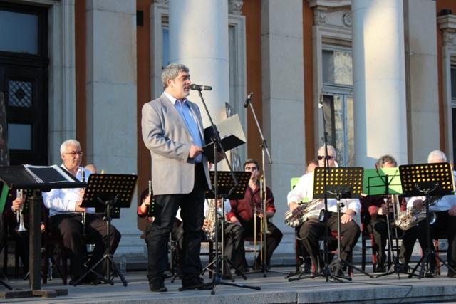 Съвместен концерт на Духовите оркестри от Перник и Кюстендил
