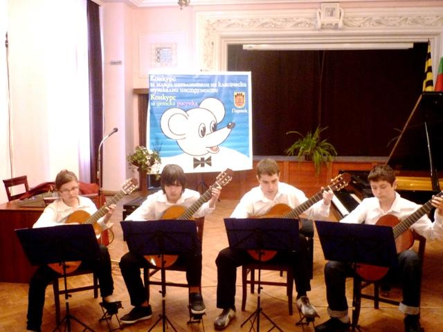 Конкурс за класически изпълнители и детска рисунка - 2013